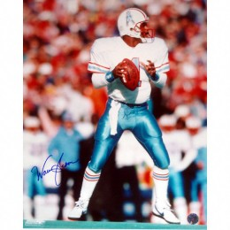 Warren Moon Signed Photo