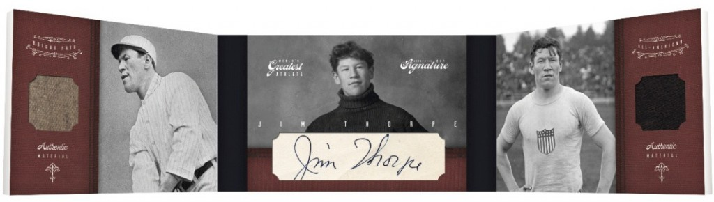 Jim Thorpe Cards and Autograph Guide 72
