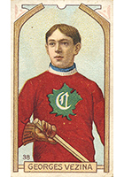Georges Vezina Cards, Rookie Card and Memorabilia Guide