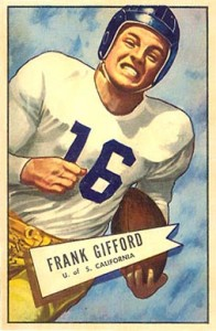 Frank Gifford Cards, Rookie Cards and Autographed Memorabilia Guide 2