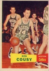 1957-58 Topp Bob Cousy RC #17