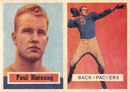 Paul Hornung Cards, Rookie Card and Autographed Memorabilia Guide 1