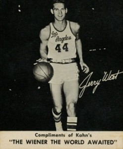 1960-61 Kahn's Wieners Jerry West