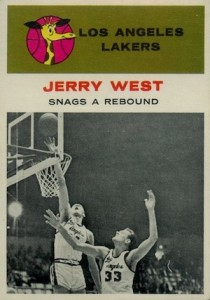 1961-62 Fleer Jerry West #66