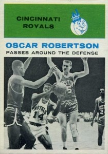 1961-62 Fleer Oscar Robertson #61