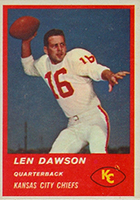 Len Dawson Cards, Rookie Card and Autographed Memorabilia Guide