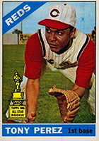 Tony Perez Cards, Rookie Card and Autographed Memorabilia Guide