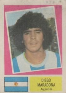 1978 Crack Campeonato Mundial De Futbol Diego Maradona