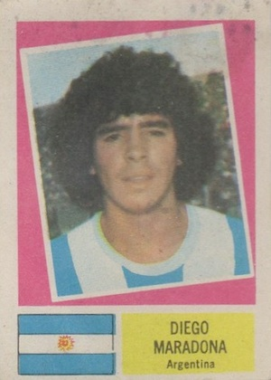 Diego Maradona Rookie Card and Apparel Guide 1