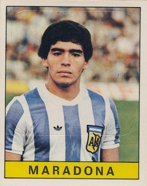 Diego Maradona Rookie Card and Apparel Guide 2