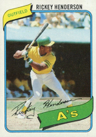 Rickey Henderson Cards, Rookie Card and Autographed Memorabilia Guide