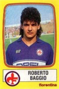 1985-86 Panini Calciatori Roberto Baggio #93