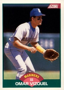 1989 Score Rookie and Traded Omar Vizquel RC