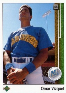 1989 Upper Deck Omar Vizquel RC