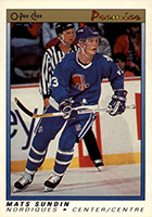 Mats Sundin Cards, Rookie Cards and Autographed Memorabilia Guide