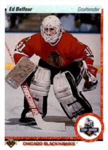 1990-91 Upper Deck Ed Belfour RC