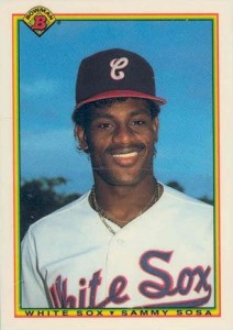 1990 Bowman Sammy Sosa RC