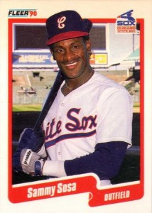 1990 Fleer Sammy Sosa RC