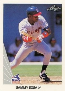 1990 Leaf Sammy Sosa RC