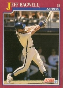 1991 Score Traded Jeff Bagwell