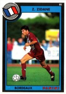 1993 Panini Football 93 Zinedine Zidane #261