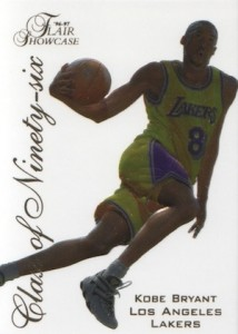 1996-97 Flair Showcase Basketball Class of 96 Ninety-six Kobe Bryant