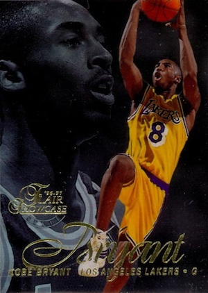 1996-97 Flair Showcase Basketball Row 2 Kobe Bryant