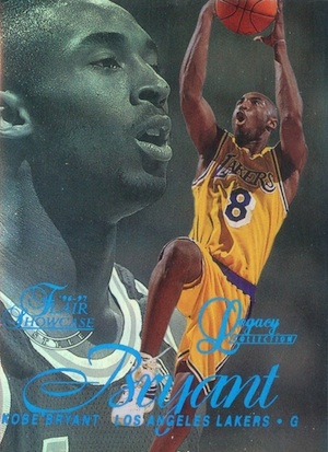 1996-97 Flair Showcase Basketball Row 2 Legacy Collection Kobe Bryant