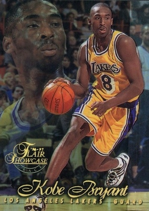 1996-97 Flair Showcase Basketball Row 1 Kobe Bryant