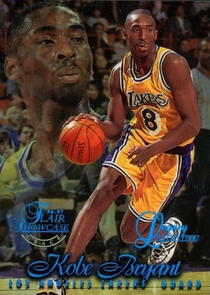 1996-97 Flair Showcase Basketball Row 1 Legacy Collection Kobe Bryant