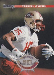1996 Donruss terrell Owens RC