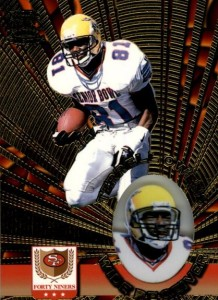 1996 Pacific InvincibleTerrell Owens RC