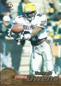 1996 Pacific Terrell Owens RC #381