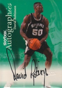 1999-00 Autographics David Robinson