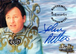 1999 Inkworks Buffy the Vampire Slayer Season 2 Autographs John Ritter