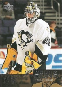 2003-04 Upper Deck Young Guns Marc-Andre Fleury RC