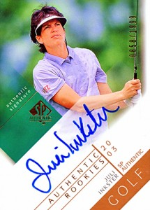 2003 SP Authentic Golf Juli Inkster RC