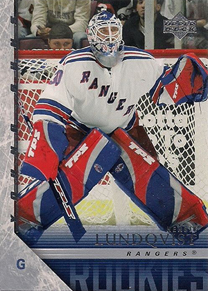 Henrik Lundqvist Rookie Card Guide 1