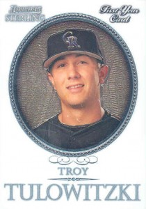 Troy Tulowitzki Rookie Card Checklist and Guide 3