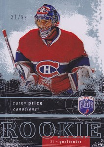 Carey Price Rookie Cards Checklist and Guide 1