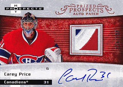 Carey Price Rookie Cards Checklist and Guide 2
