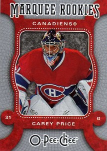 Carey Price Rookie Cards Checklist and Guide 3