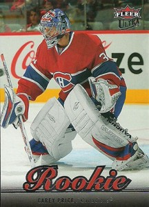 Carey Price Rookie Cards Checklist and Guide 8