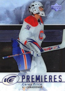 Carey Price Rookie Cards Checklist and Guide 12