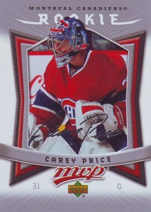 Carey Price Rookie Cards Checklist and Guide 14