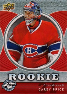 Carey Price Rookie Cards Checklist and Guide 13