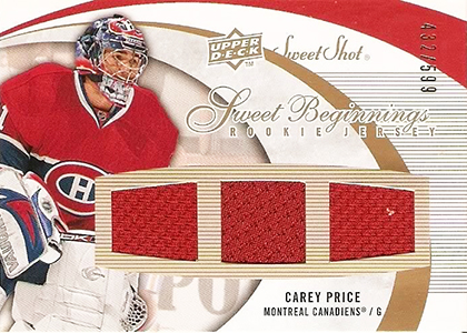 Carey Price Rookie Cards Checklist and Guide 16