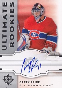 Carey Price Rookie Cards Checklist and Guide 19