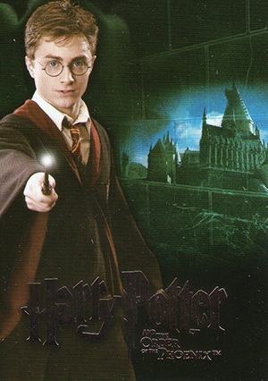 2007 Artbox Harry Potter and the Order of the Phoenix Trading Cards 19