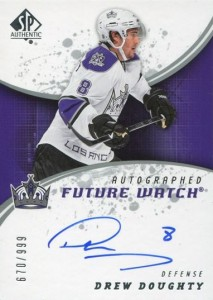 Drew Doughty Cards, Rookie Cards and Autographed Memorabilia Guide 2